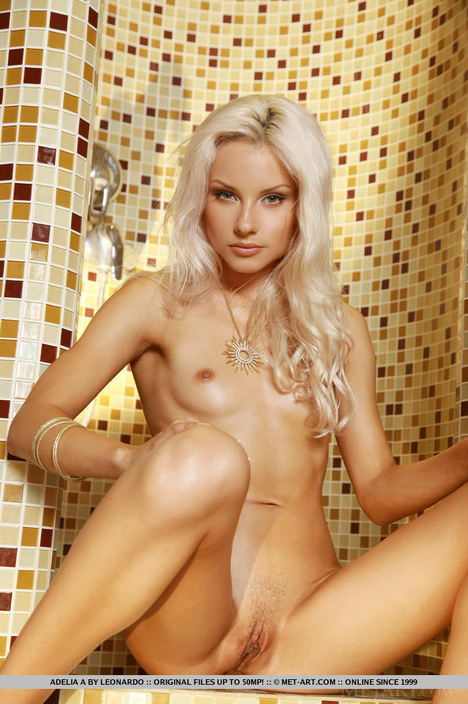 Pity, that blonde nude shower beautiful
