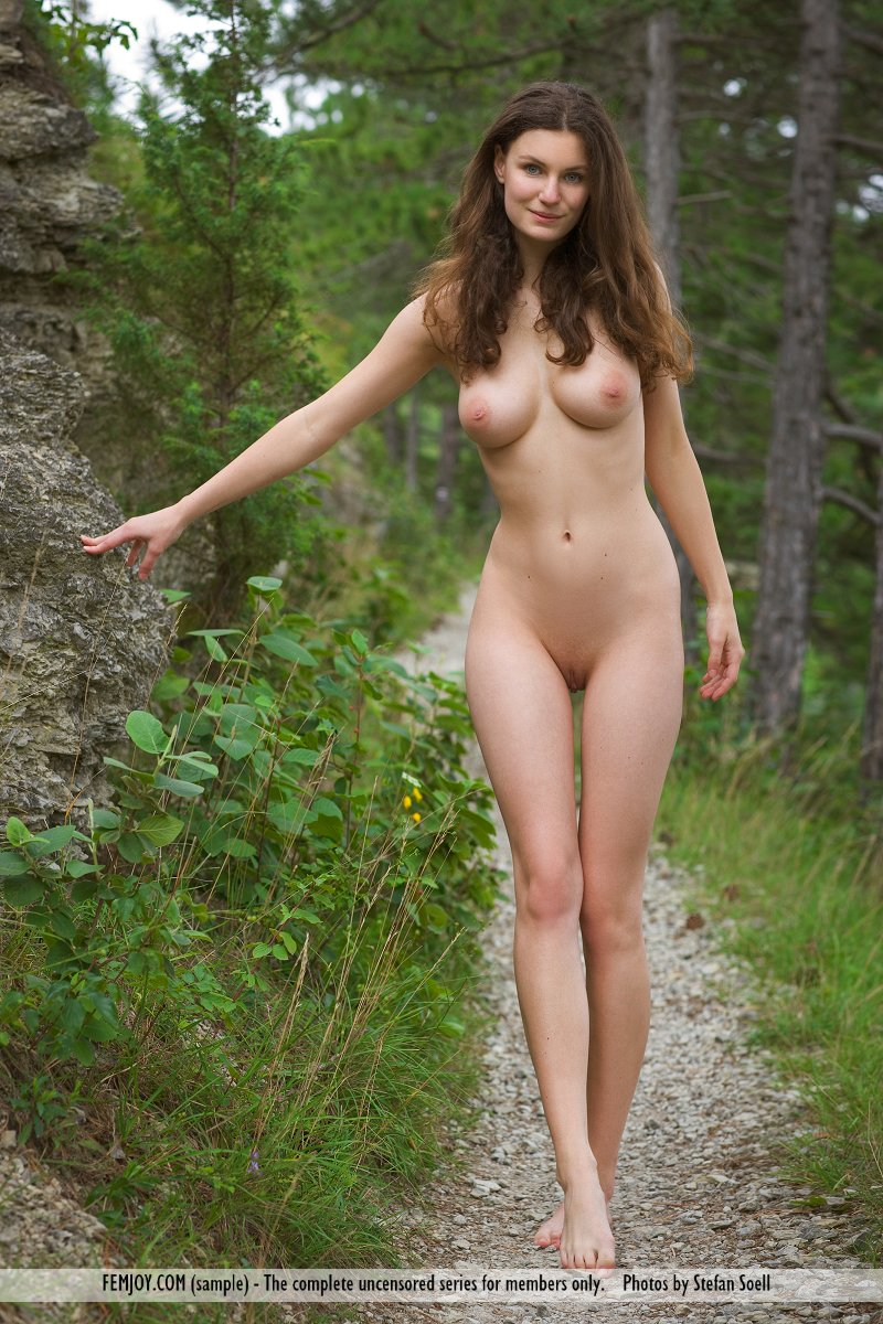 forest nude girl