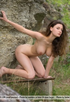 hot-babe-naked-on-forest-path-11