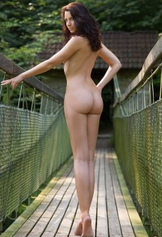 austrian babe naked outdoors