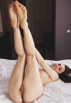 big feet girl naked
