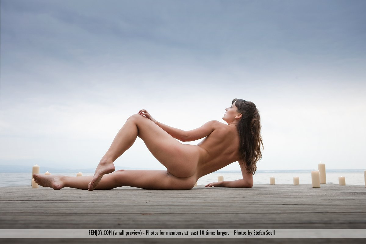 nude at the dock