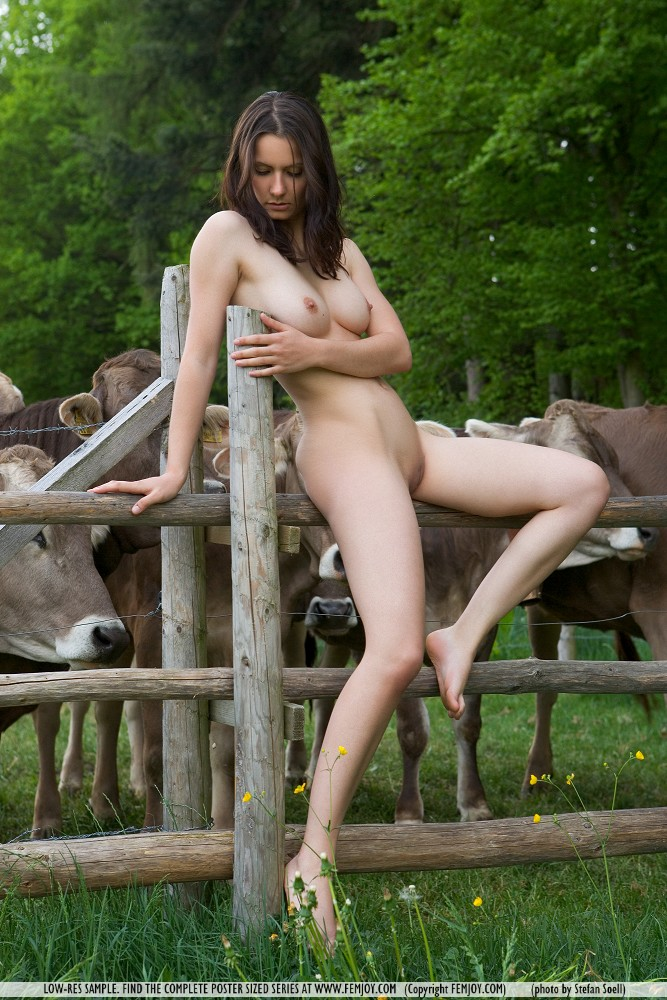 Women and girls naked