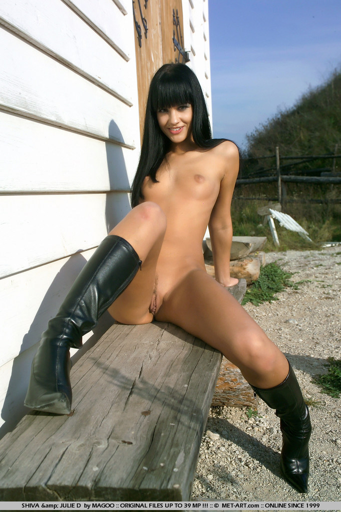 Naked Girls Wearing Boots