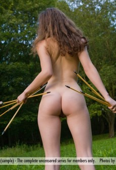 Remarkable, asian nude archery consider