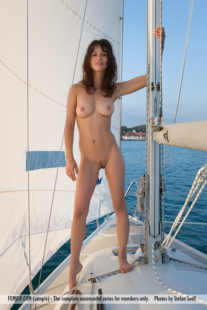 Sailing girls sexy naked
