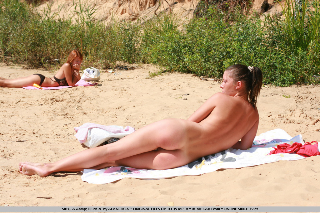 Girls beach albanian nude