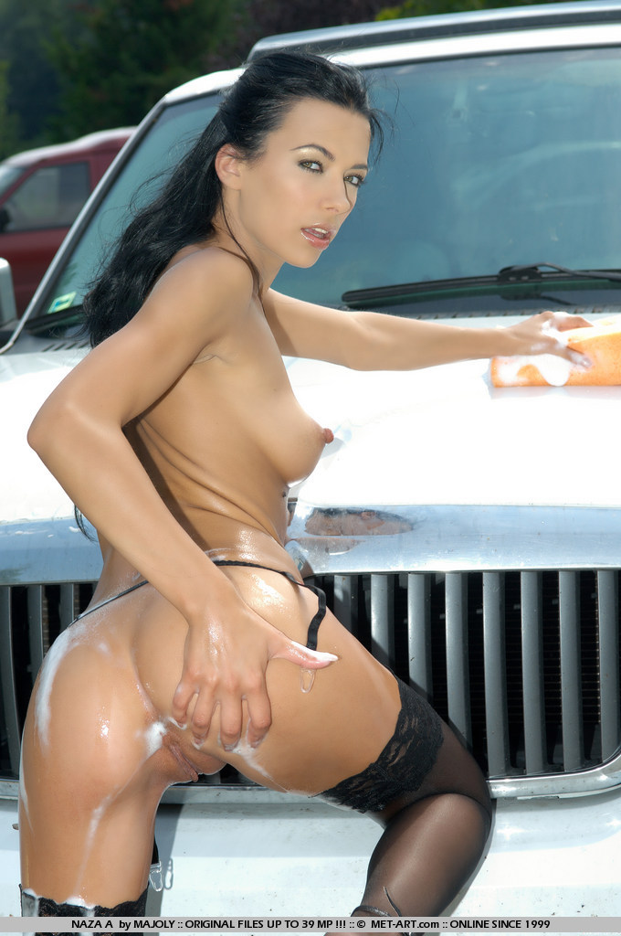 euro girl car wash