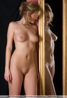 Variant naked babes posing for mirror photo too