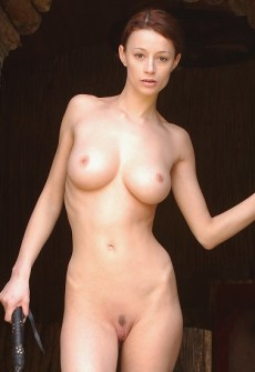 The most beautiful girl naked
