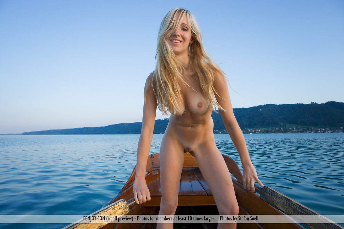 Nude babes and boats