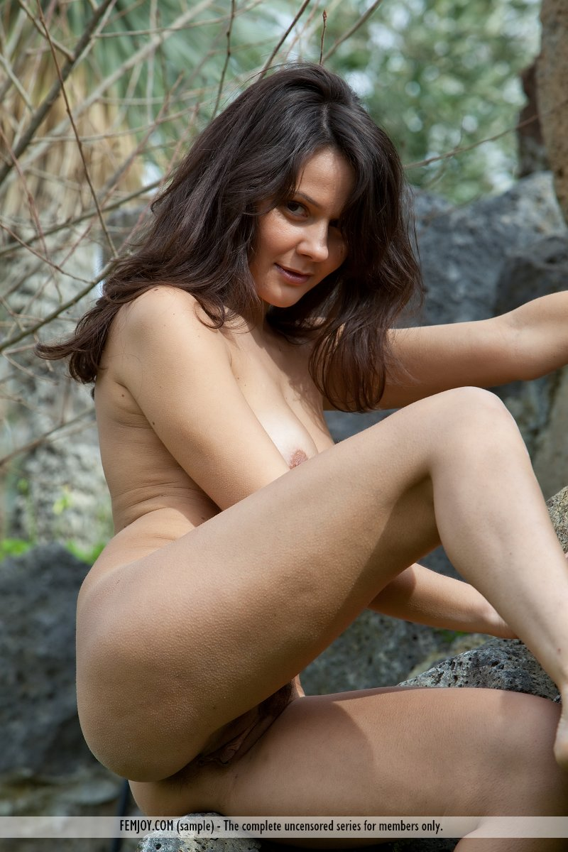 Nude girls outdoors agree