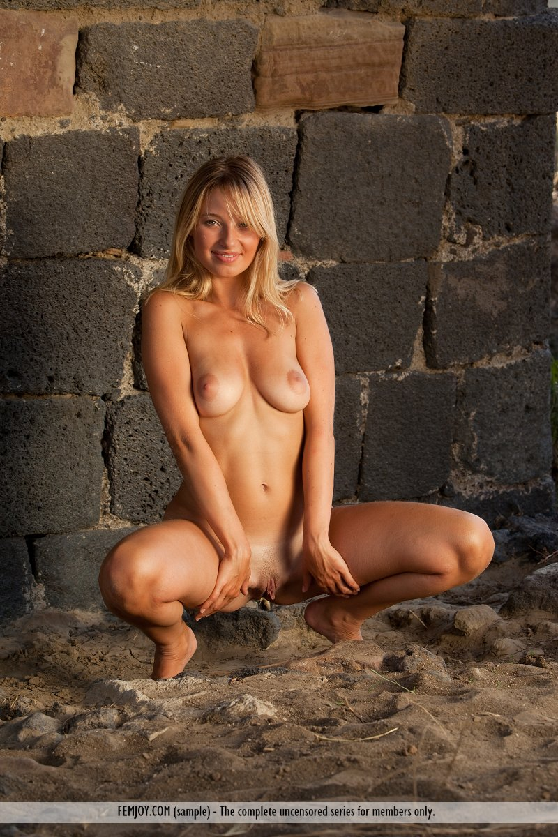 from Conrad naked girl in desert