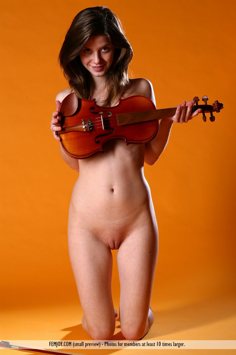 Nude girls playing