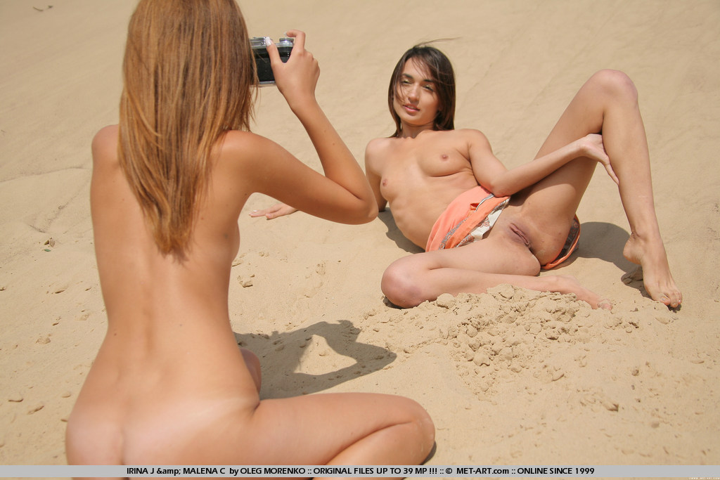 naked girls taching them self